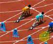 Jogo Online: 100m Race