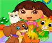 Jogo Online: Dora Pets Care