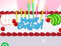 Jogo Online: Happy Birthday Cake
