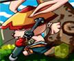 Jogo Online: Kungfu Rabbit