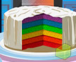 Jogo Online: Love Rainbow Cake