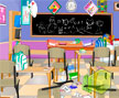 Jogo Online: Messy Classroom Cleaning
