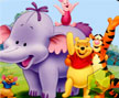 Jogo Online: Pooh And Friends Hidden Object