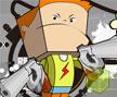 Jogo Online: Squared Head Warrior