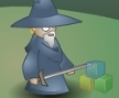 Jogo Online: Angry old wizard