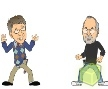Jogo Online: Gates Vs Jobs - The Game