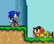 Jogo Online: Sonic In Mario World 2